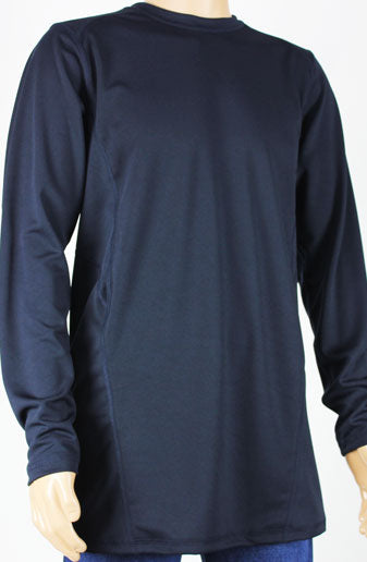 Shirts - Navy Long Sleeve Shirt