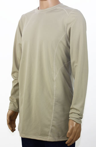 Shirts - Khaki Long Sleeve Shirt