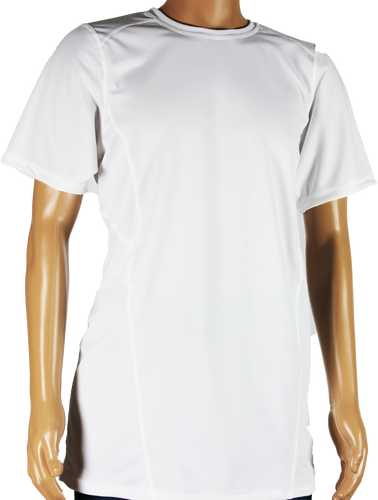 Shirts - White Short Sleeve Shirt