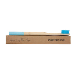 Bamboo Toothbrush - Sky Blue - Lovers of The Sea