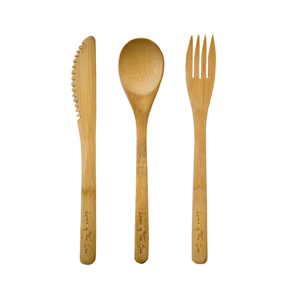 Bamboo Cutlery Set - Lovers of The Sea
