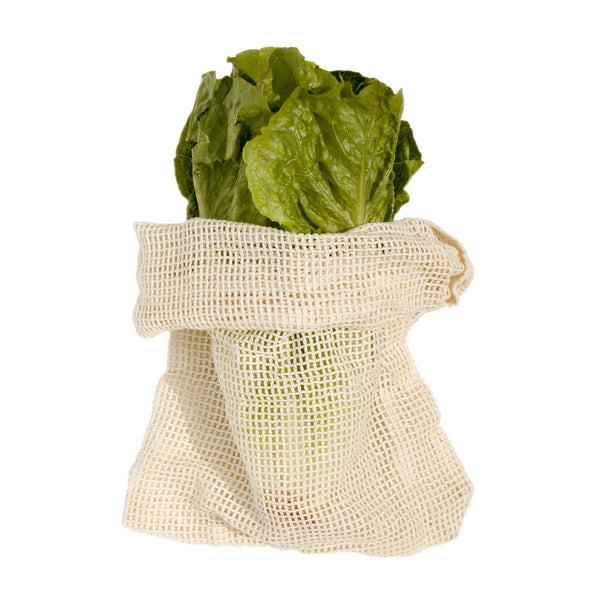 Reusable Produce Bags, Organic Cotton (Pack of 5) - Lovers of The Sea