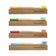 Bamboo Toothbrush (Pack of 4 - Mixed Colors) A