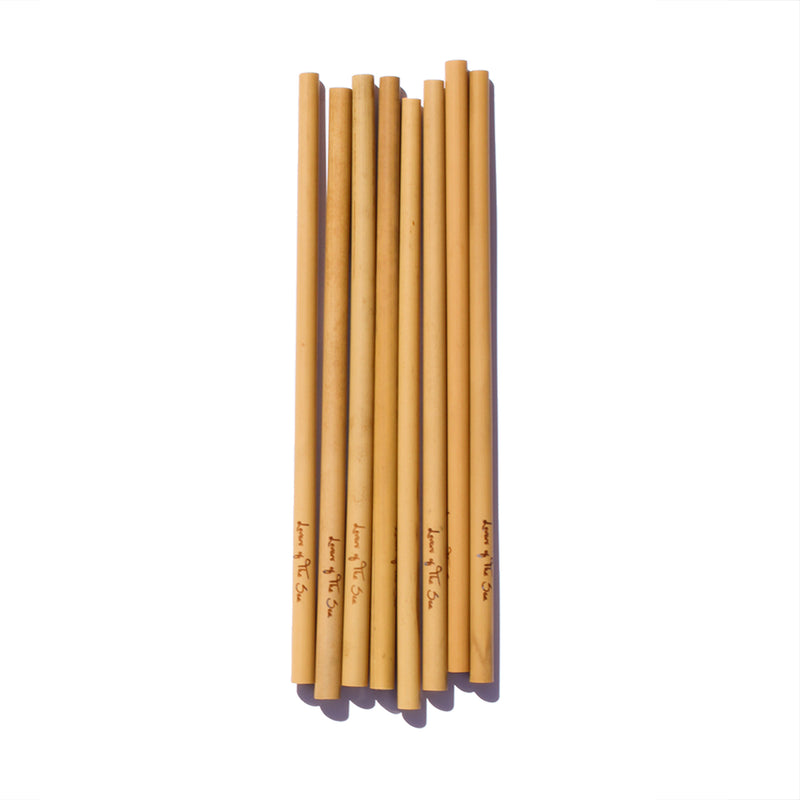 Bamboo Straws - Lovers of The Sea