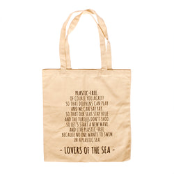 "Tote Bag: ""A Poem For The Sea"" - Lovers of The Sea"