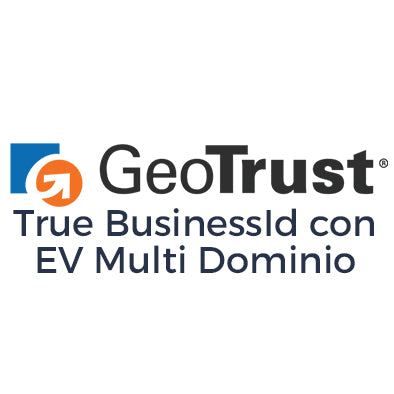 Certificado SSL GeoTrust SSL True BusinessID con EV Multi Dominio
