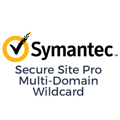 Certificado SSL Symantec SSL Secure Site Pro Multi-Domain Wildcard