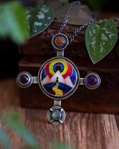 The Gate ~ Journey Collection ~ Ancient Cross Necklace