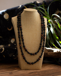 Deep Romantic Strand • Mahogany Obsidian, Lavastone and Onyx • Xanadu collection