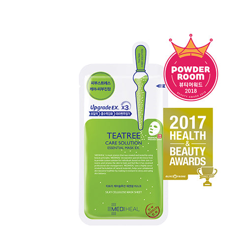 MEDIHEAL ~ Teatree Care Solution Mask