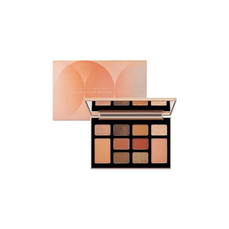 MISSHA - Color Filter Shadow Palette