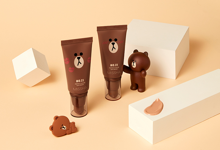 Cosmetique Coreen Missha Line Friends Edition BB Creme Fond de Teint