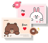 Cosmetique Coreen Missha Line Friends Edition Maquillage Fards a Paupieres Palette