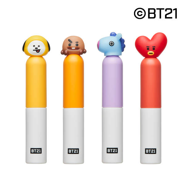 Cosmetique Coreen Maquillage BT21 x VT Rouge A Levres
