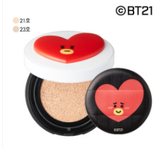 Cosmetique Coreen Maquillage BT21 x VT Cushion Tata