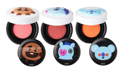Cosmetique Coreen Maquillage BT21 x VT Cushion Blush