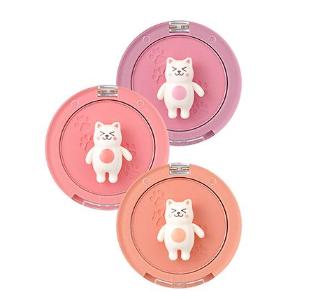 TONY MOLY ~ Bling Cat Blinket Blush