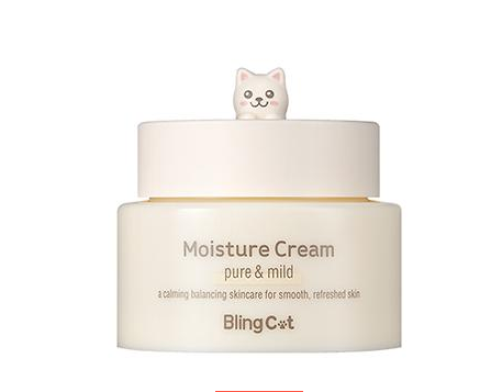 TONY MOLY ~ Bling Cat Moisture Cream - Crème hydratante