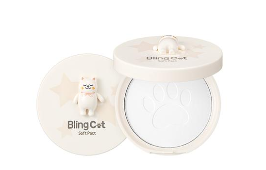 TONY MOLY ~ Bling Cat Poudre matifiante
