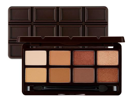THE FACE SHOP ~ Palette Fards à paupières Choco Mono Pop Chocolat