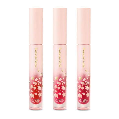 ETUDE HOUSE ~ Blossom Picnic MATTE Chic Lip Laquer (Blossom Picnic Collection)