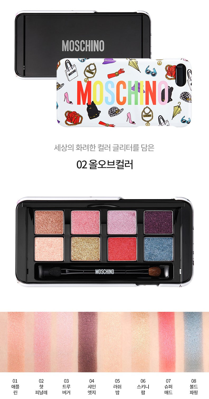 Cosmetique Coreen Tony Moly Moschino Maquillage Fards a Paupieres Palette