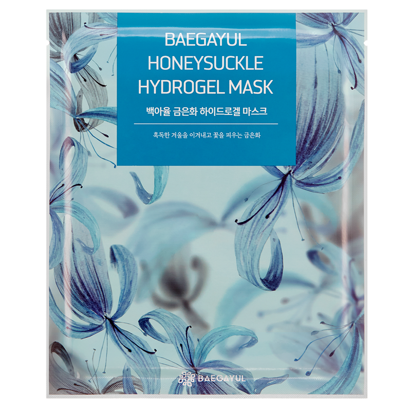 BAEGAYUL ~ Honeysuckle Hydrogel Mask (Pack de 10)