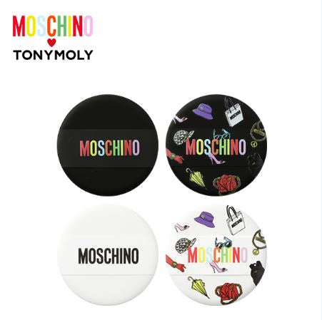 Cosmetique Coreen Tony Moly Moschino Accessoire de Maquillage Coffret Houppe