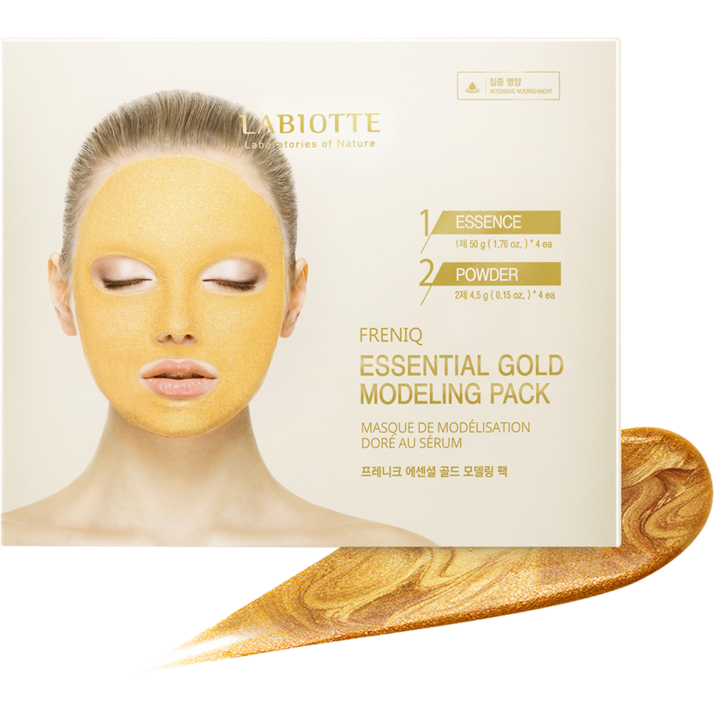 LABIOTTE ~ Freniq Essential Gold Modeling Pack (4 sets)