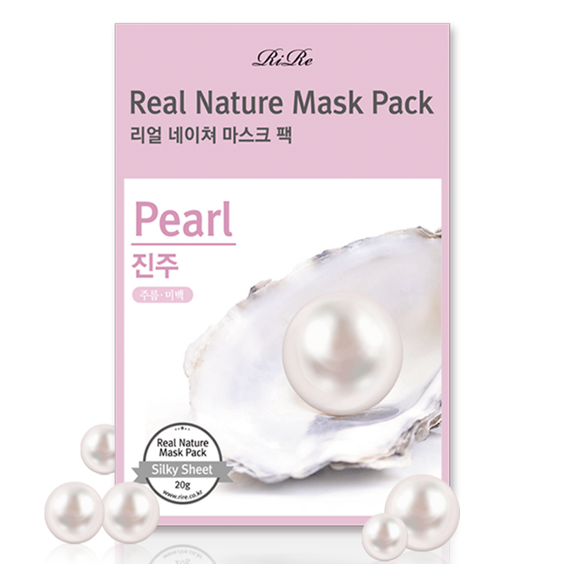RIRE ~ Real Nature Mask Pack Pearl