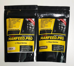 Manfeed Single Serving Pack
