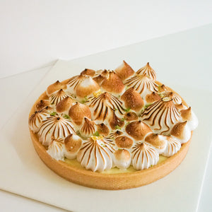 【Citron】法式檸檬蛋白塔 French Lemon Tart with Vegan Meringue
