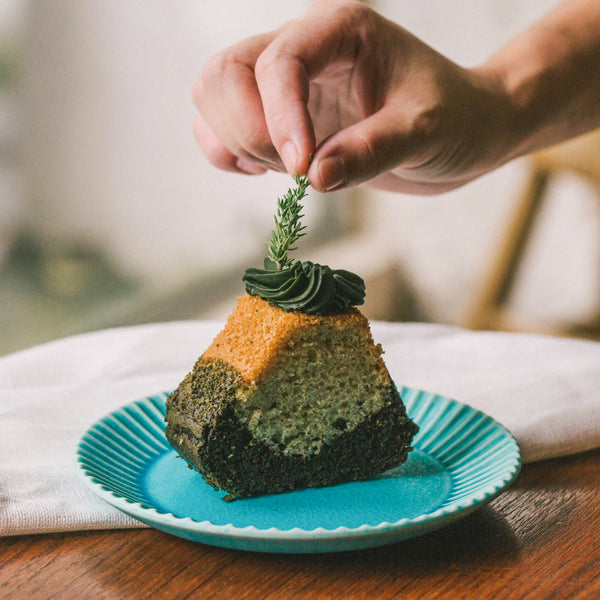 Matcha Mountain Cake