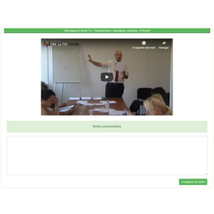 "Pack E-Learning : 2 formations ""Praticien + Maître-Praticien en Hypnose Ericksonienne"""