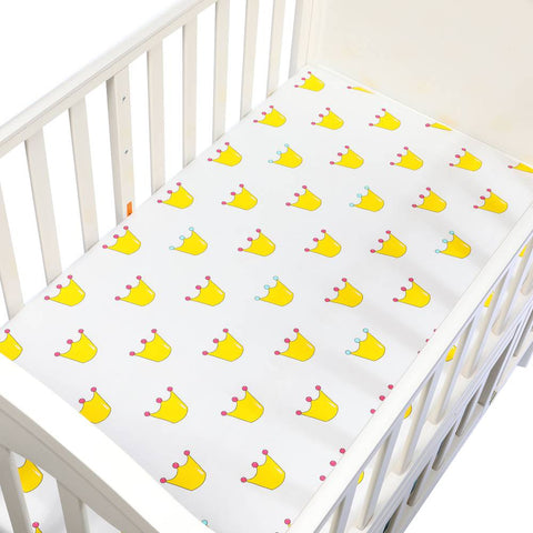 Cotton Lovely Pattern Newborn Baby Bed Crib Sheet Mattress Cover | Baby Shopping | Family Lovee