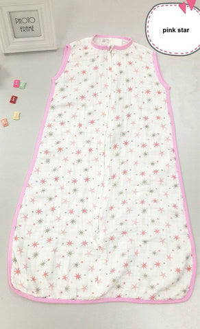 Muslin Cotton Sleep Sack for New Born | Baby Shopping | Baby Products | Family Lovee