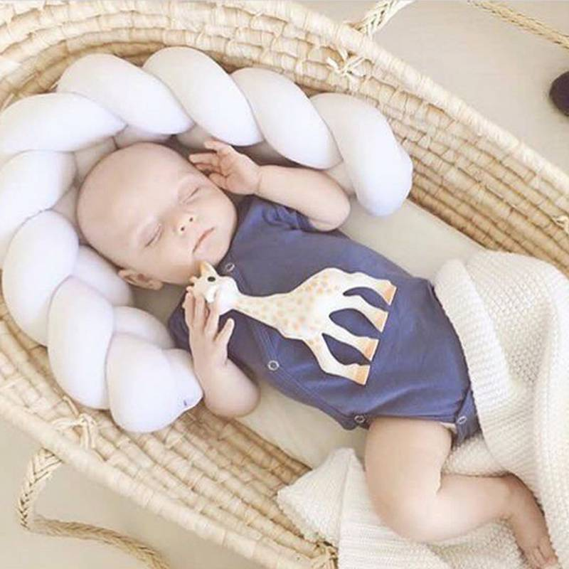 Newborn Baby Bed Bumper Infant Room Decor Crib - Family Lovee