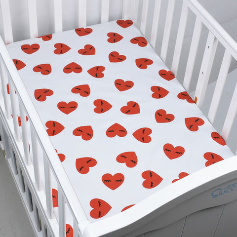 Cotton Crib Fitted New Mattress Cover - Family Lovee Baby Shopping