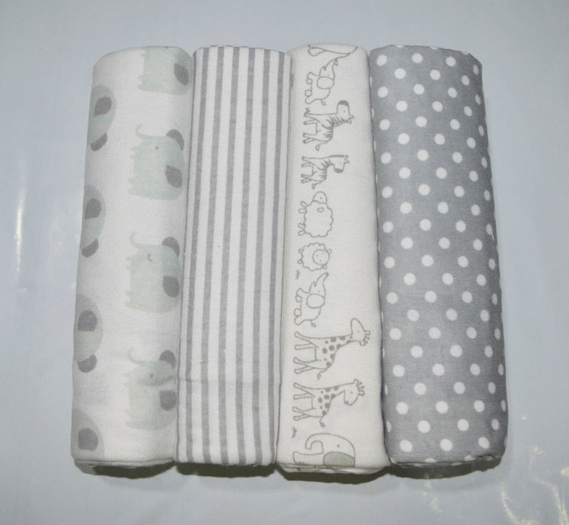 Newborn Swaddle Infant Bed Sheet Toddler Blankets | Baby Products | Baby Shopping | Family Lovee