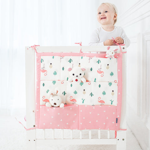 Hanging Storage Bag for Baby Crib Set - Family Lovee