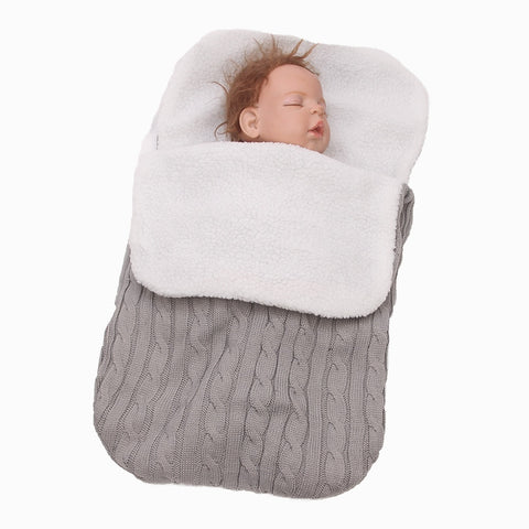 Woolen Sleep Sack for New Born Stroller - Family Lovee