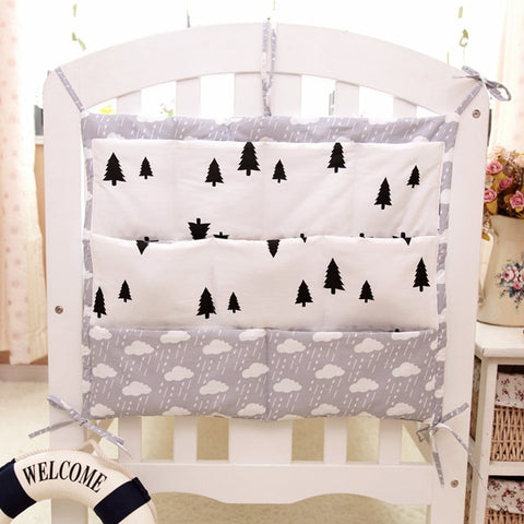 Hanging Storage Bag for Baby Crib - Family Lovee