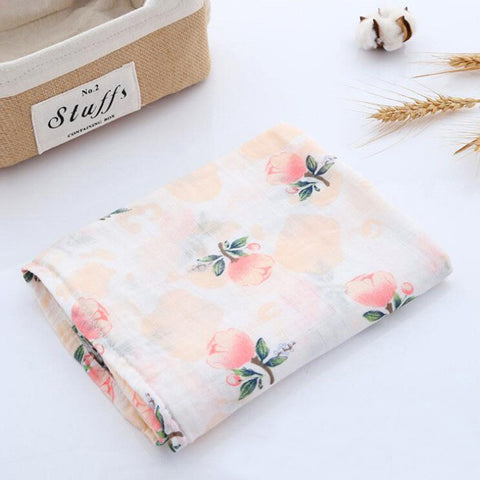 Wutongshu Muslin Baby Blankets Newborn Photography Accessories Soft Swaddle Wrap Organic Cotton Baby Bedding Bath Towel
