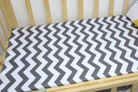 Cotton Crib Fitted Mattress Cover - Family Lovee Baby Shopping