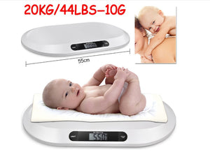baby scales Multi-function digital display of intelligent boys girls electronic scales growth weighing health