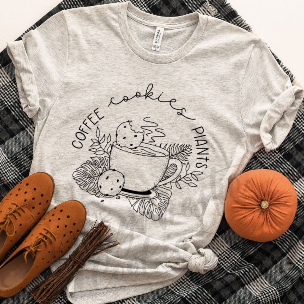 Coffee, Cookies, Plants Tee