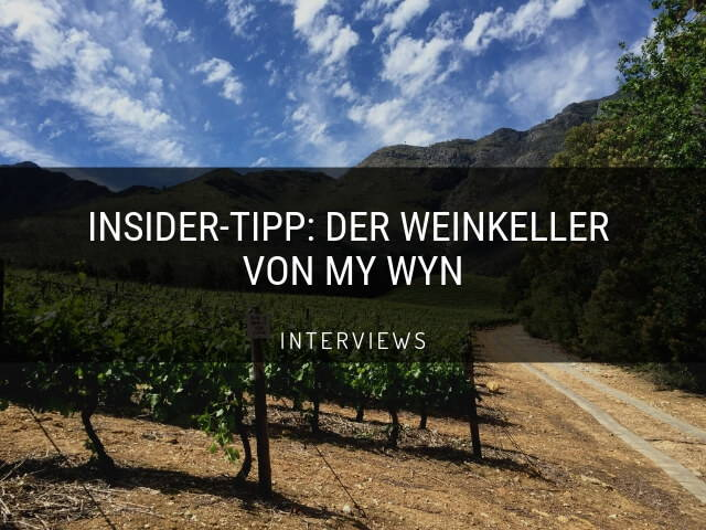 Der Weinkeller von My Wyn - The WineStory
