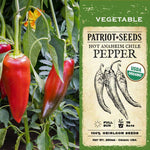 Organic Anaheim Hot Pepper Seeds (250mg) - My Patriot Supply