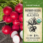Organic Cherry Belle Radish Seeds (4g) - My Patriot Supply