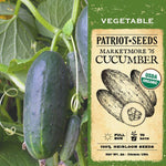 Organic Marketmore 76 Cucumber Seeds (2g) - My Patriot Supply